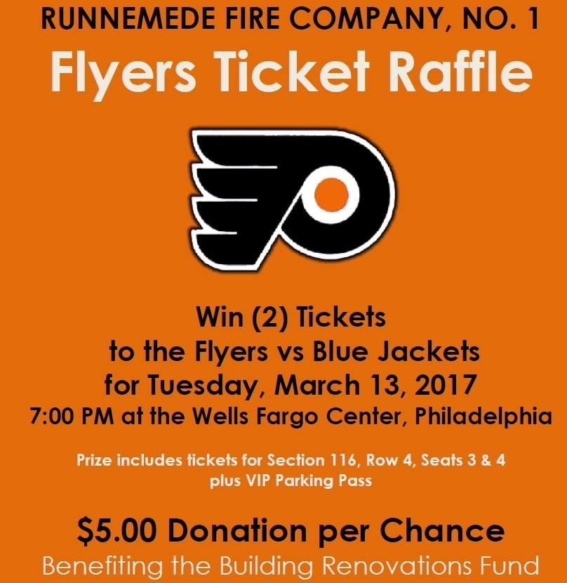 Flyers Ticket Raffle